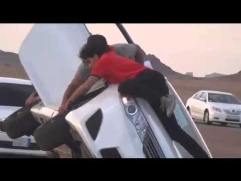 تقرير سكاي نيوز SKY عن ترفيع السيارات في السعودية