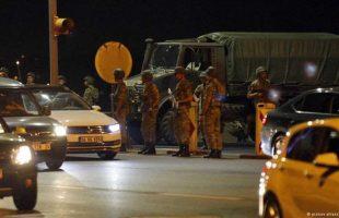 """انباء متضاربة حول """" انقلاب تركيا """" ورئيس الوزراء يتوعد"""